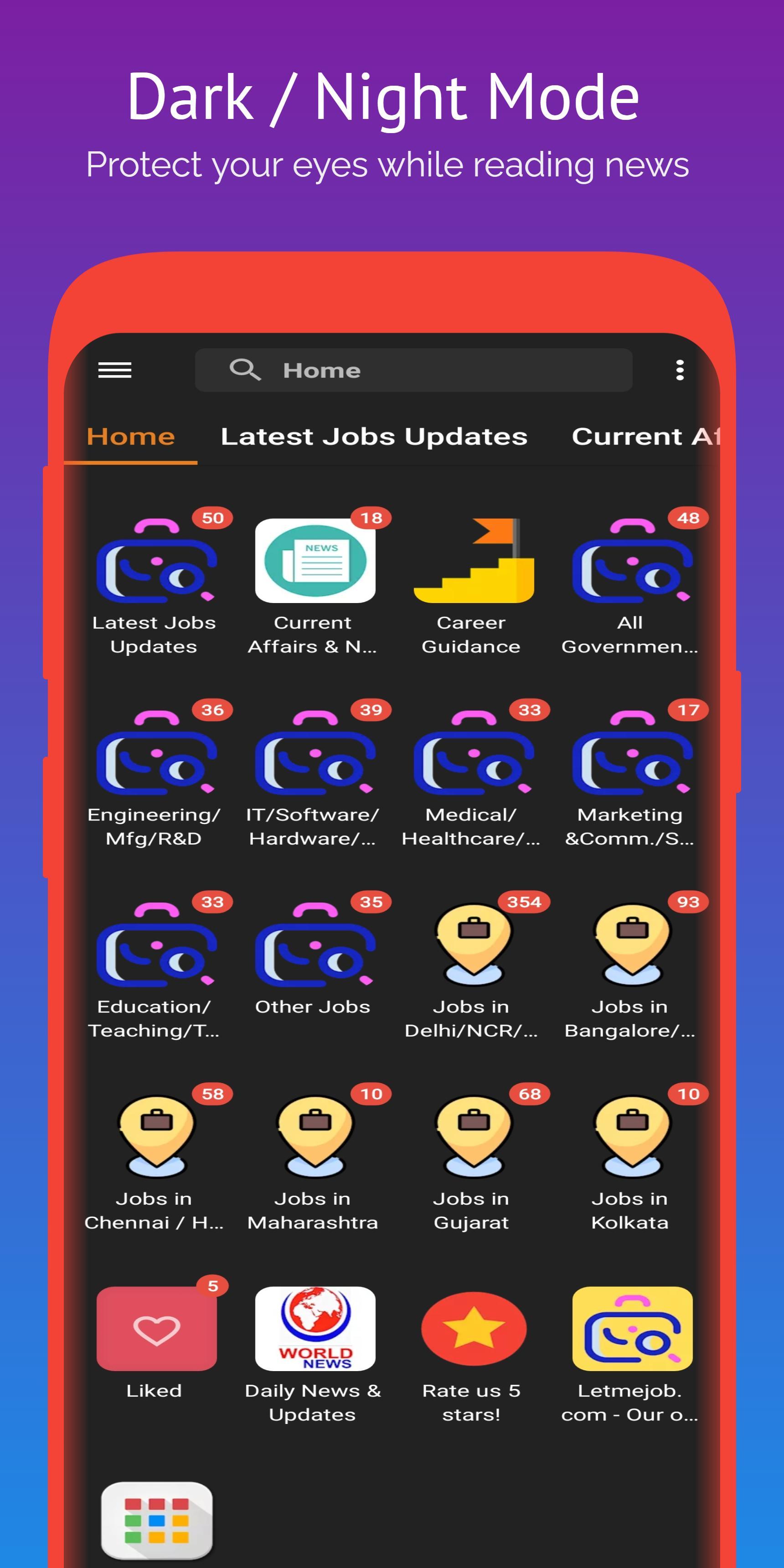 Jobs India: All Government Job Updates, Job Alerts screenshot 5