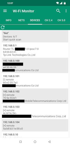 Wi-Fi Monitor screenshot 5