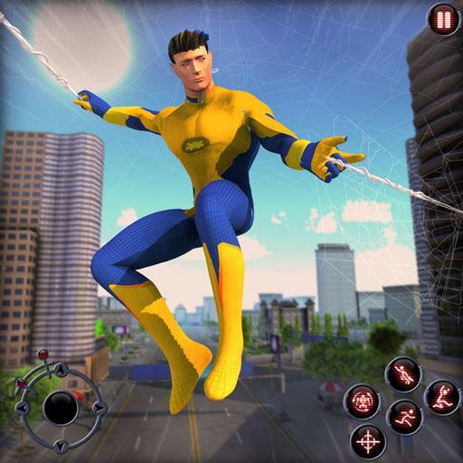 Rope Amazing Hero Crime City Simulator icon