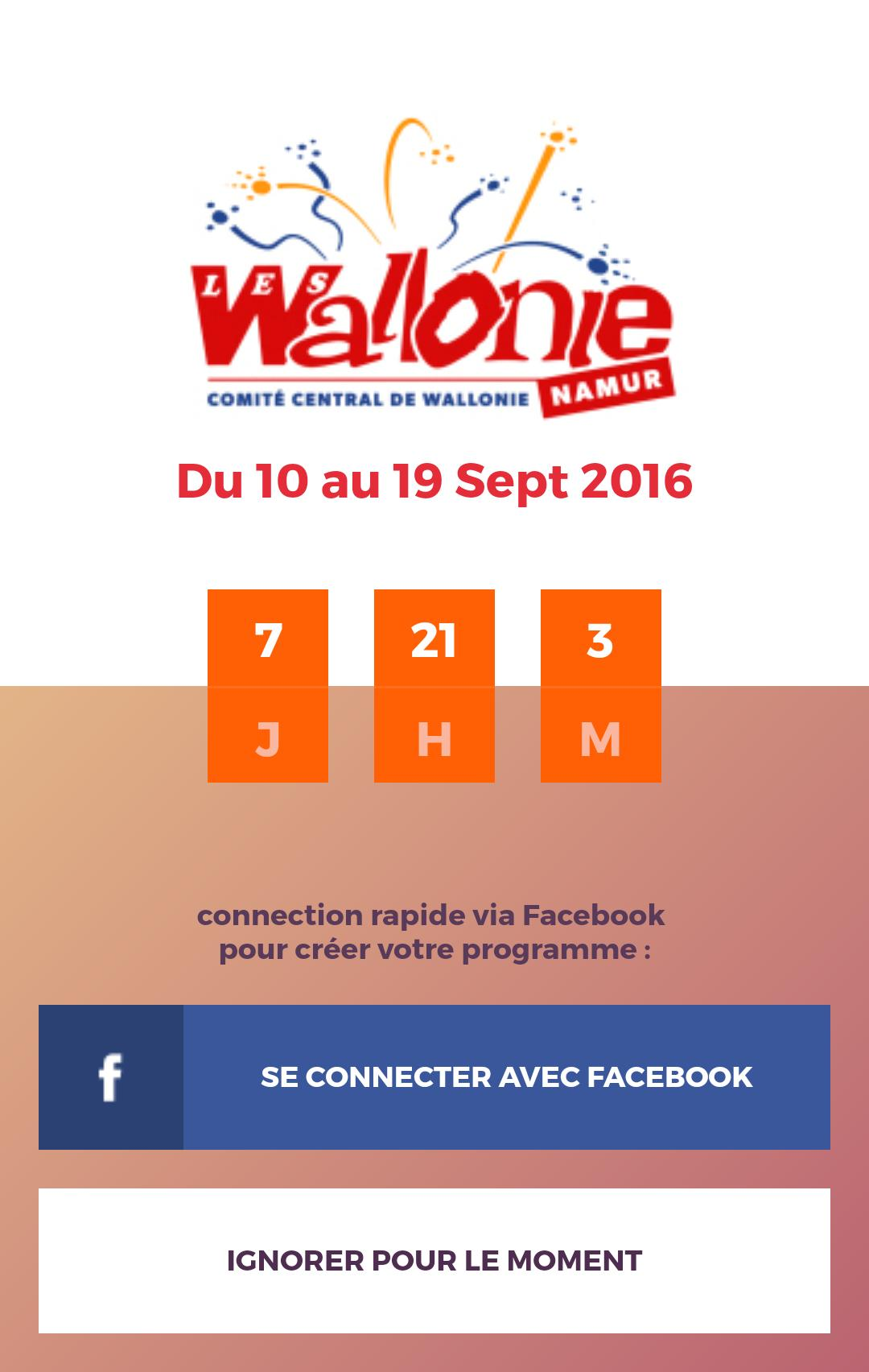Fêtes de Wallonie 1 تصوير الشاشة