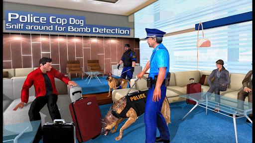 US Police Dog 2019: Airport Crime Shooting Game 1 تصوير الشاشة