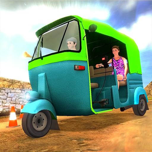 عربة توك توك الجبلية للسيارات أيقونة