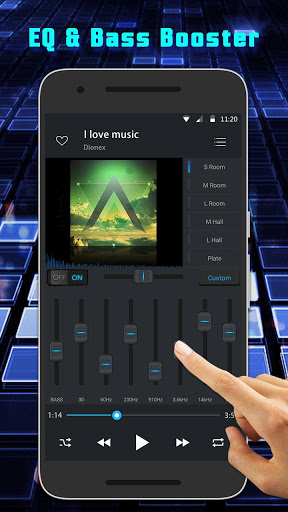 Equalizer Music Player and Video Player screenshot 3