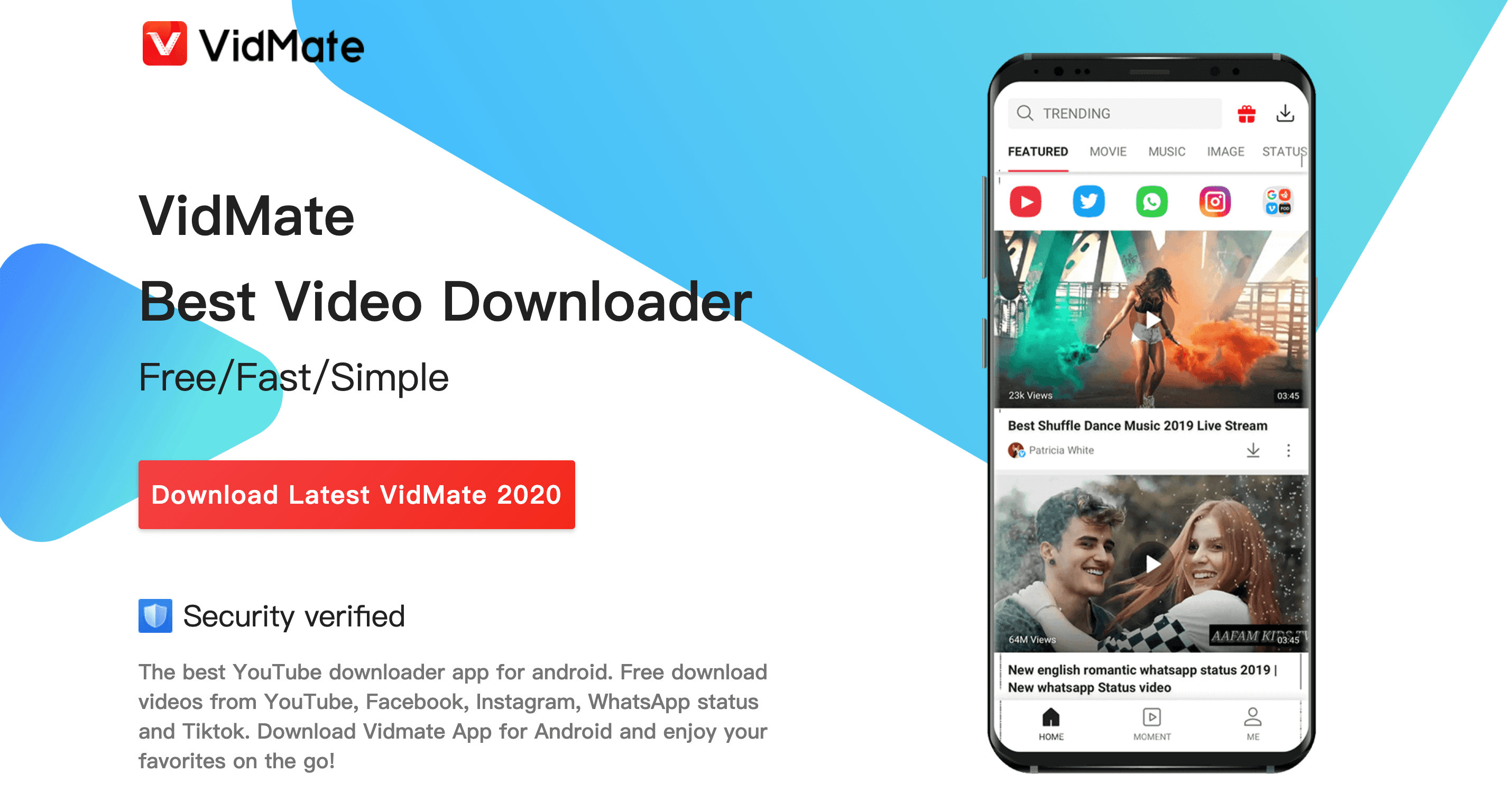 VidMate - Best HD / 4K Videos Downloader