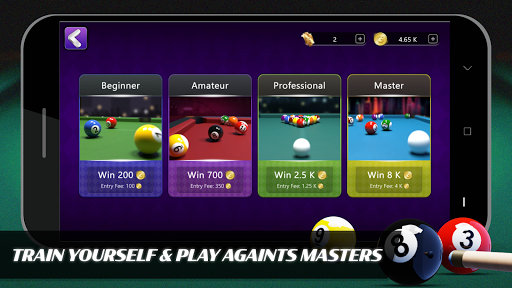 8 Ball Billiards- Offline Free Pool Game screenshot 2