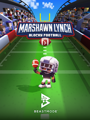 Marshawn Lynch Blocky Football screenshot 14