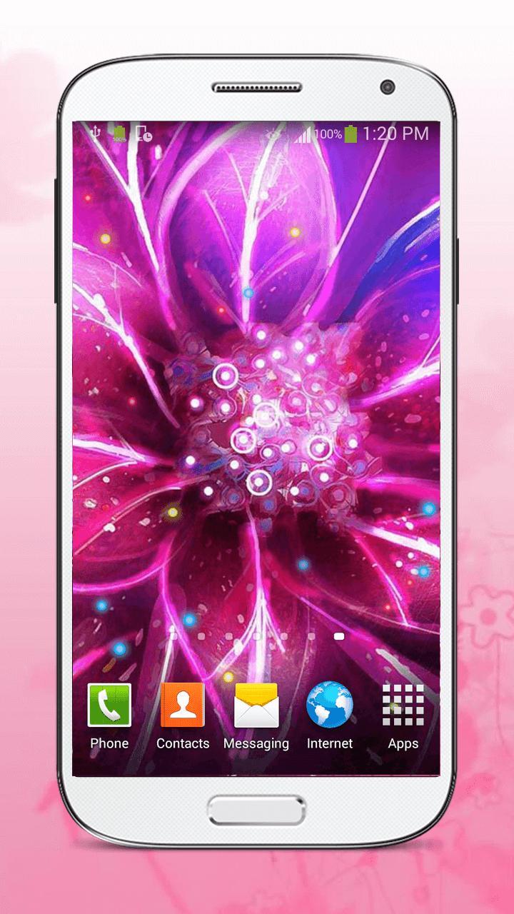 Luminous Flower Live Wallpaper screenshot 6