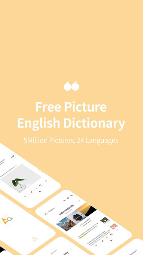 Picture English Dictionary - 24 Languages 5M Pics screenshot 1