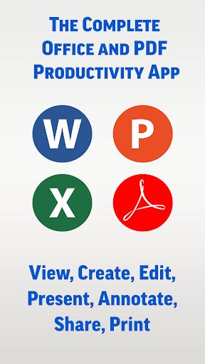 SmartOffice - View & Edit MS Office files & PDFs screenshot 1