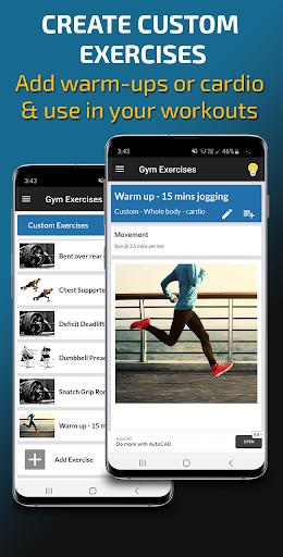 Gym Exercises & Workouts screenshot 7