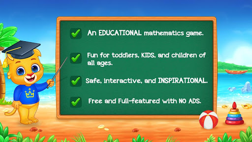 Math Kids - Add, Subtract, Count, and Learn 6 تصوير الشاشة