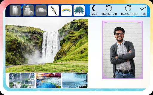 Waterfall Photo Editor and Photo Frames screenshot 1