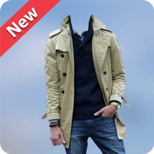 Men Winter Jacket Suit