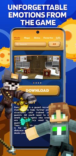 Mods Maps Skins for Minecraft screenshot 2