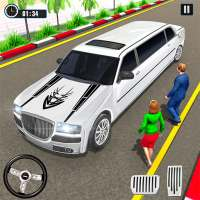 Big City Limo Car Driving Taxi Games on 9Apps