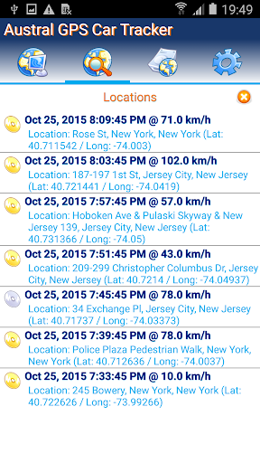 GPS Tracker Car TK SMS Free 3 تصوير الشاشة