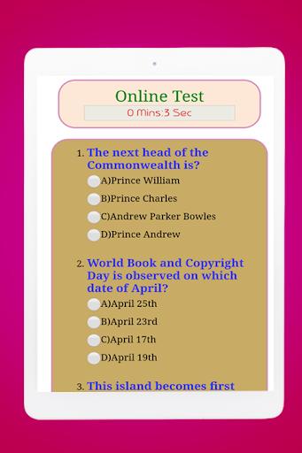 General Knowledge Quiz : World GK Quiz App स्क्रीनशॉट 14