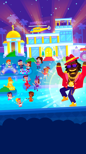 Partymasters - Fun Idle Game 2 تصوير الشاشة