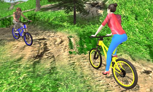 MTB انحدار بي إم إكس دراجه هوائية حيلة المتسابق 5 تصوير الشاشة