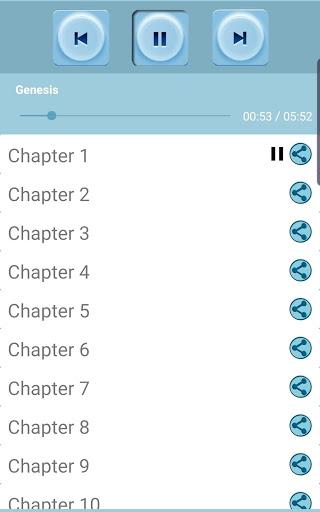 Audio Bible MP3 screenshot 2