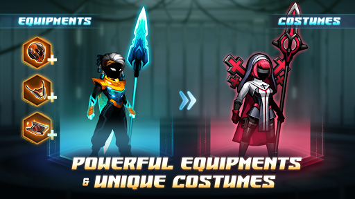 Cyber Fighters: League of Cyberpunk Stickman 2077 screenshot 3