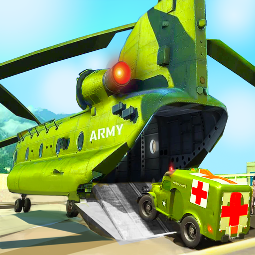 US Army Ambulance Driving Game : Transport Games आइकन