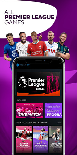 MOLA - Broadcaster Resmi Liga Inggris 2019-2022 screenshot 1