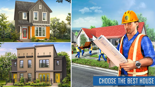 New Family House Builder Happy Family Simulator screenshot 2