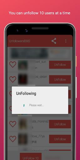 Unfollower for Instagram screenshot 3