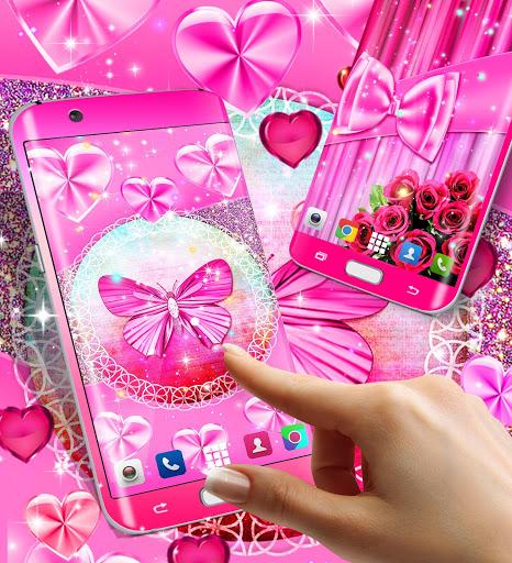Wallpapers for girls 3 تصوير الشاشة