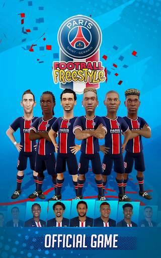 PSG Soccer Freestyle screenshot 2