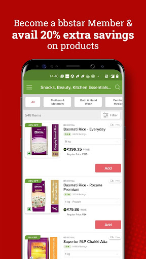 bigbasket- Online Grocery Shopping, Home Delivery screenshot 5