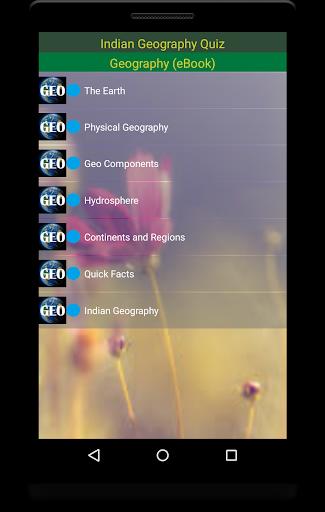 Indian Geography 7 تصوير الشاشة