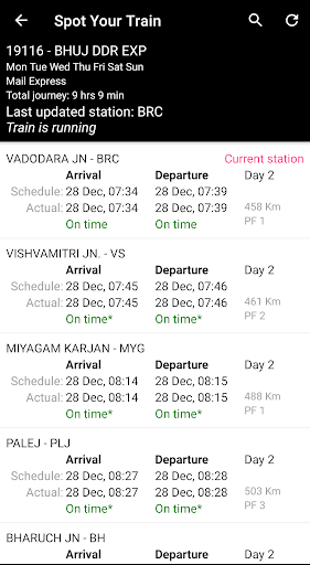 Indian Rail Enquiry (No Ads) screenshot 2