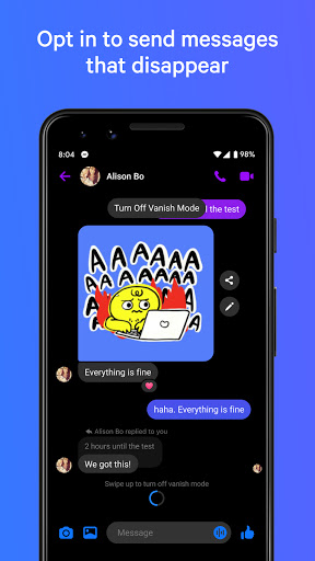 Messenger – Text and Video Chat for Free screenshot 2
