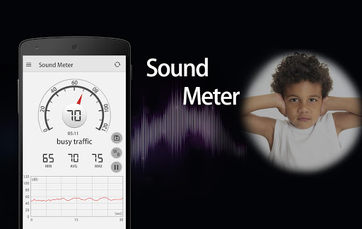 Sound Meter & Noise Detector screenshot 1