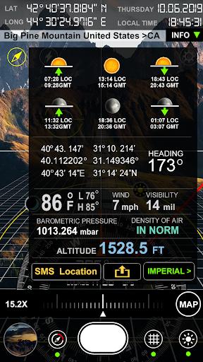 Compass S8 (GPS Camera) 5 تصوير الشاشة
