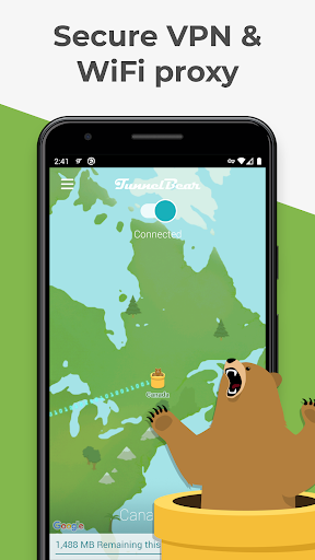 TunnelBear: Virtual Private Network & Security screenshot 2