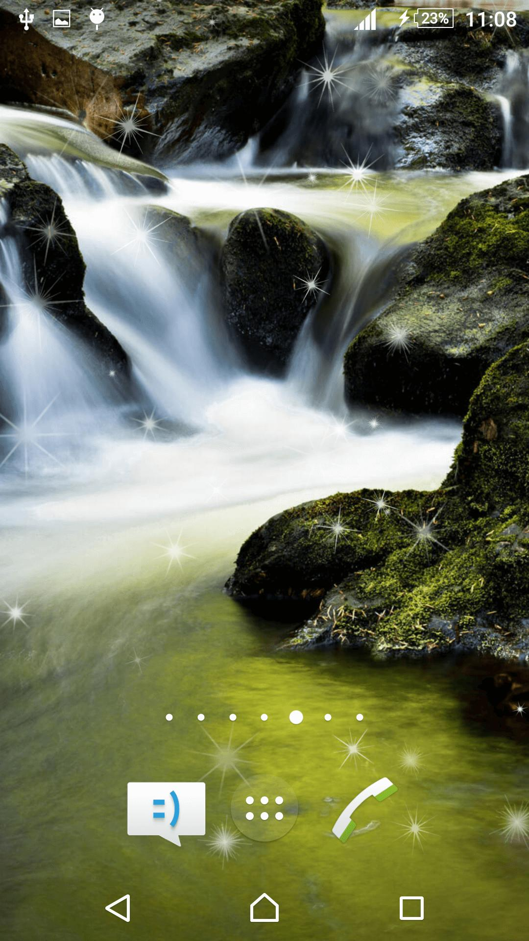 Waterfall Live Wallpaper screenshot 6