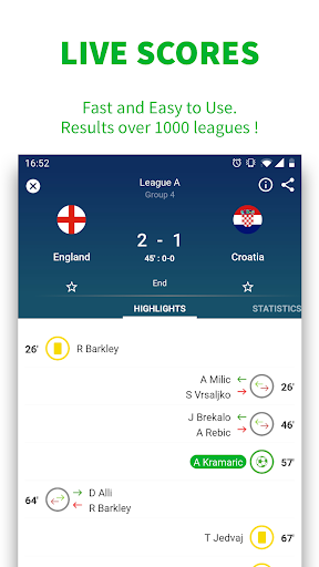 SKORES - Live Football Scores screenshot 2