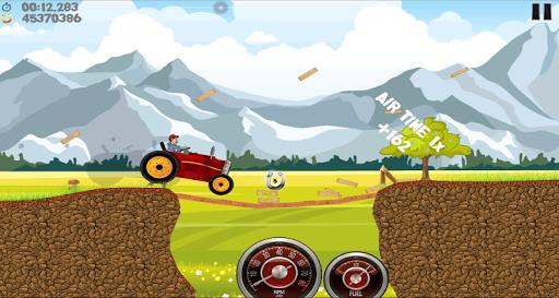Farm Tractor Racing скриншот 2