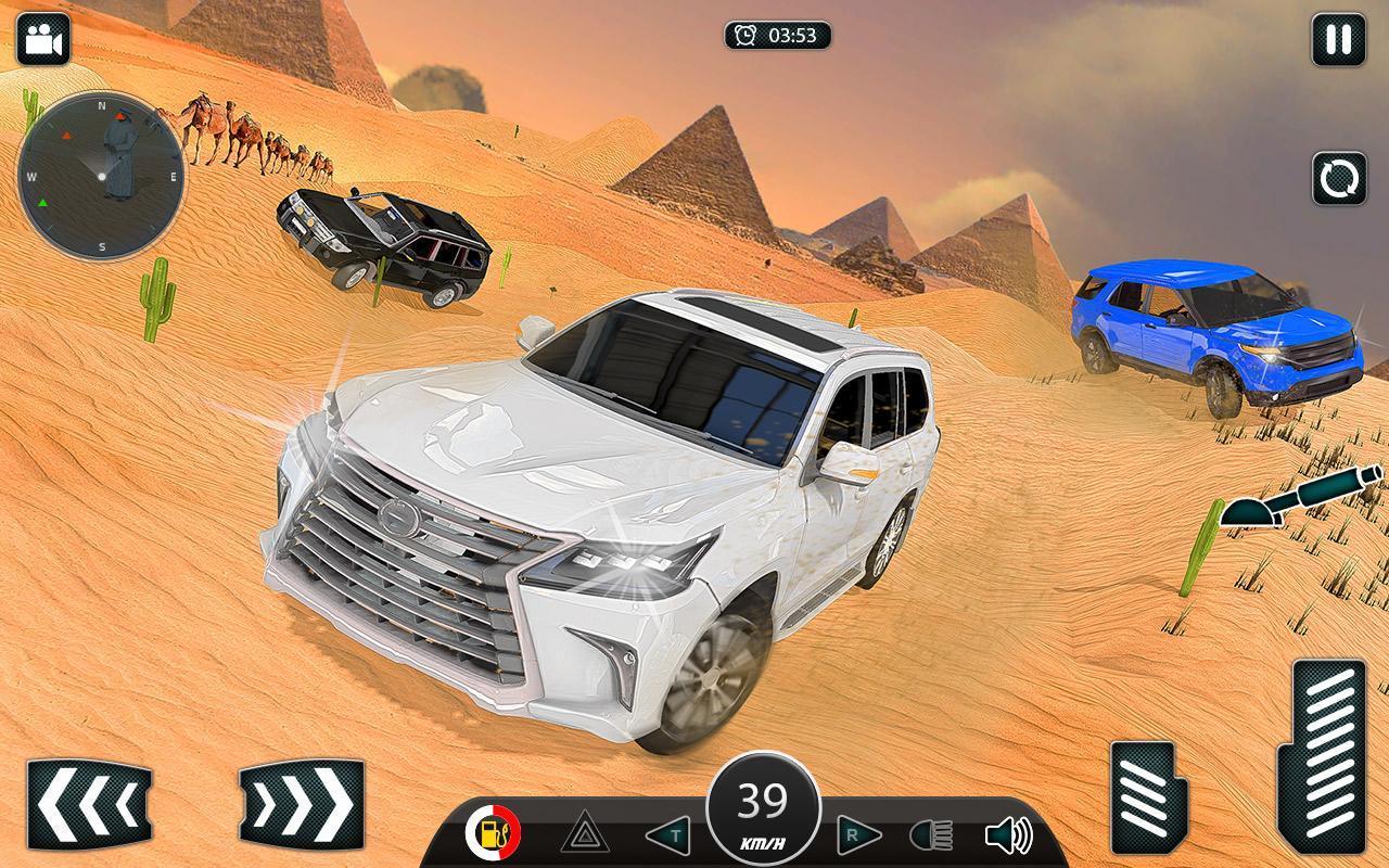 Luxury LX Prado Desert Driving screenshot 3