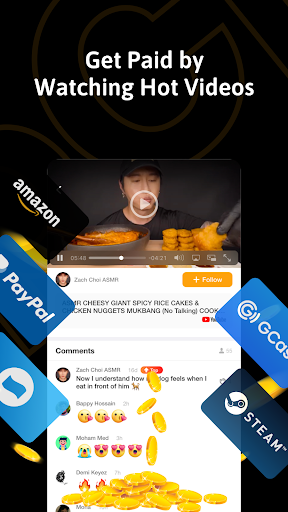 ClipClaps - Reward your interest screenshot 1
