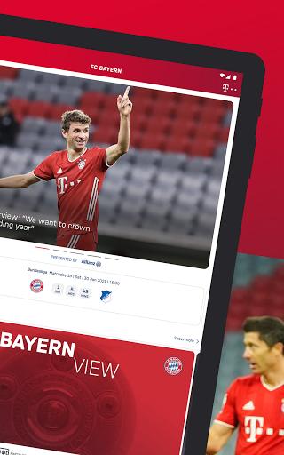 FC Bayern München - football news & live scores 9 تصوير الشاشة