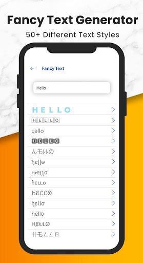 Fancy Text   Sticker Maker (WAStickerApps) screenshot 5