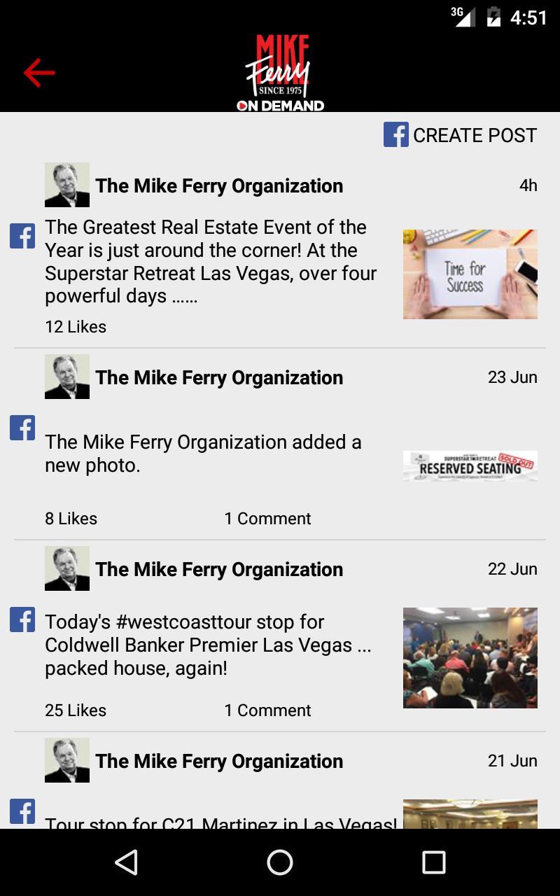 Mike Ferry On Demand screenshot 5