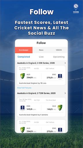 Cricket Tambola, Free Fantasy, Live Scores: 100MB 3 تصوير الشاشة