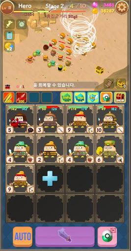 Merge Attack : Attack on Legion 5 تصوير الشاشة