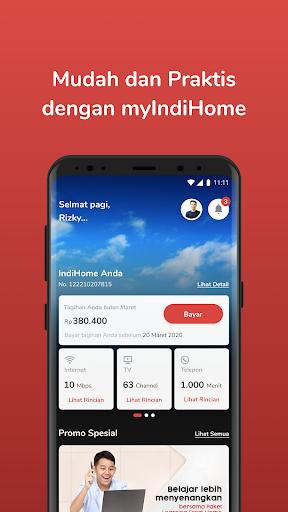 myIndiHome screenshot 1