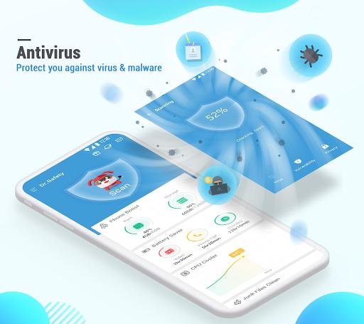 Dr. Safety: Free Antivirus, Booster, App Lock स्क्रीनशॉट 1